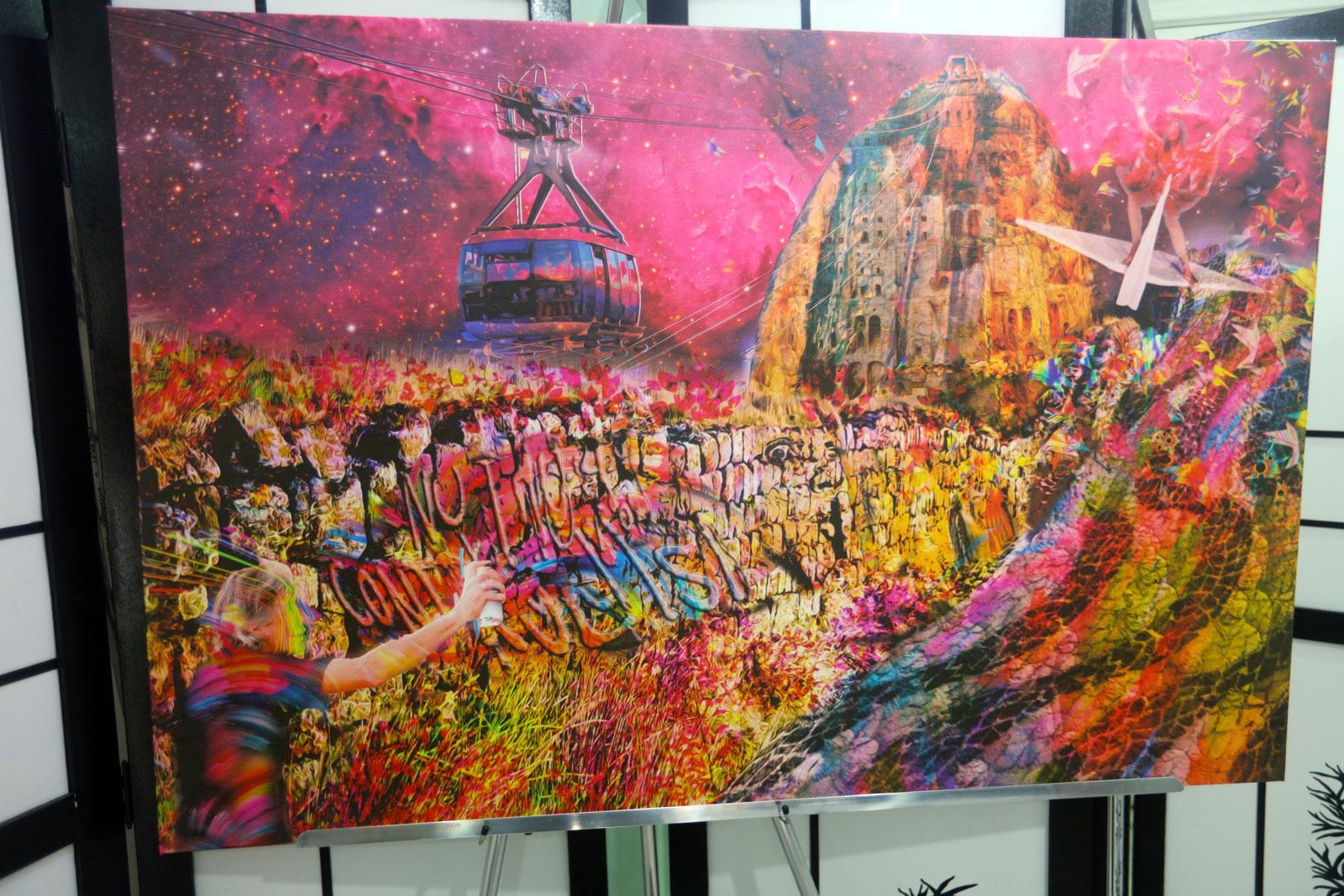 "ela ""Rio Wall"" - Artista: Henrique Vieira Filho"