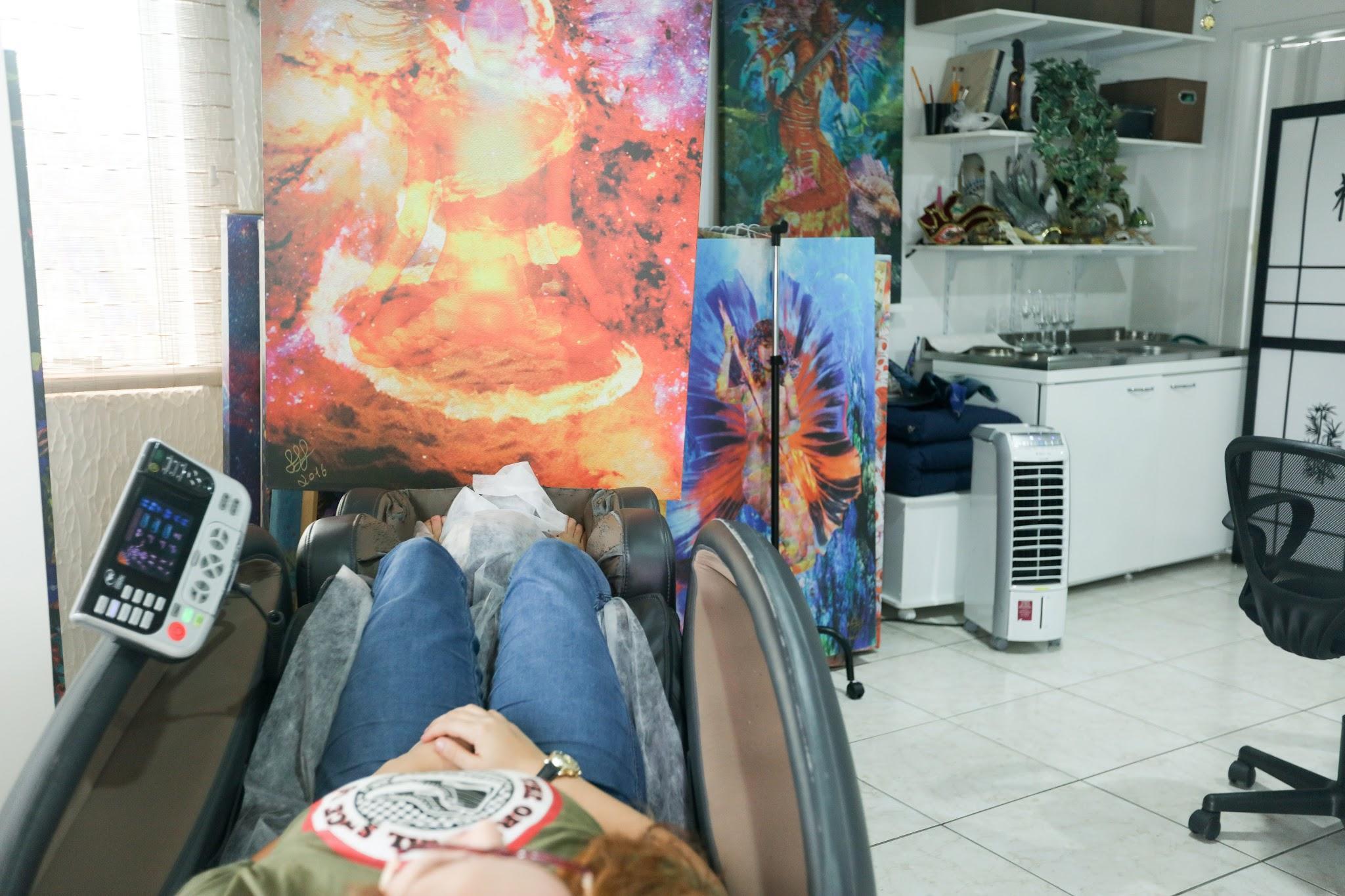 Slow Art - Art Experience - Henrique Vieira Filho conduz vivência de imersão na tela pintada