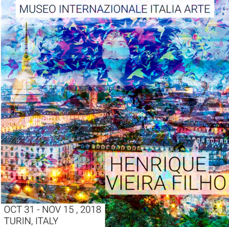 Artes de Henrique Vieira Filho Invadem Museu Italiano